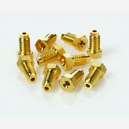 1 4 Short Comp. Screw (Gold-Plated), 10pk CLC000112525