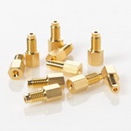Screw, Comp.,10-32, 304SS, Gold-plated, 10pkg CLC000112529